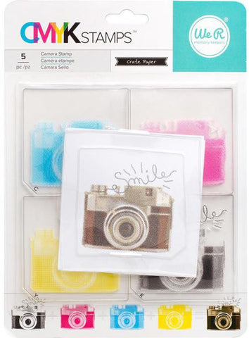 WE ARE MEMORY KEEPERS - CMYK Stamps / Camera