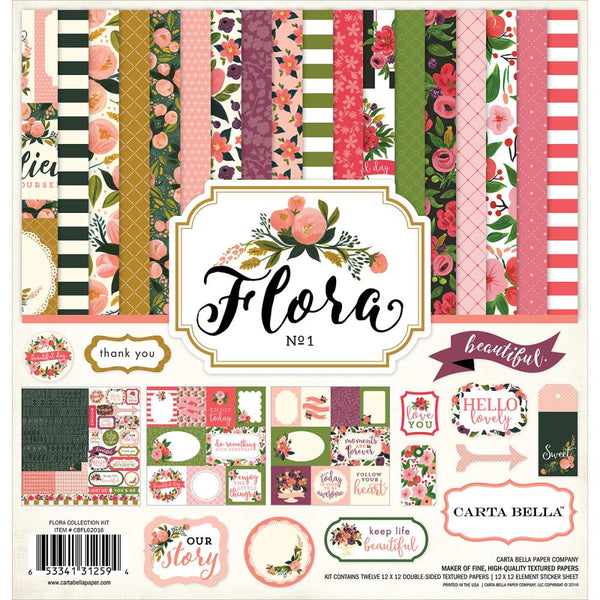 CARTA BELLA Flora no. 1 Collection Kit