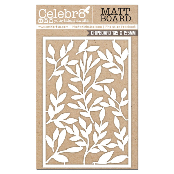 CELEBR8 - Matt Board Equi - Leaves