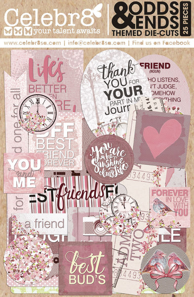 CELEBR8 Paper Die Cuts - Forever Friends