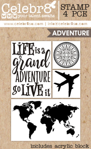 CELEBR8 STAMPS - Travel Set / Going Places