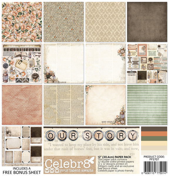 CELEBR8 -  Paper Pack - Our Story