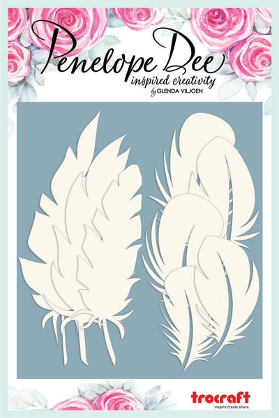 PENELOPE DEE - Feathered - Feathers Board