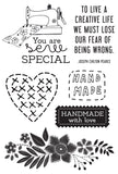 KAISERCRAFT CLEAR STAMPS / VARIOUS / 2019