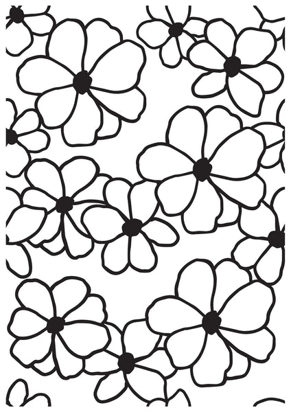 KAISERCRAFT EMBOSSING FOLDER - Flowers