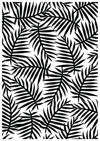 KAISERCRAFT EMBOSSING FOLDER - Fern Leaf