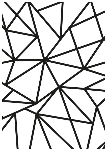 KAISERCRAFT EMBOSSING FOLDER - Geo Lines