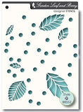 MEMORY BOX Garden Leaf and Berry Stencil Set