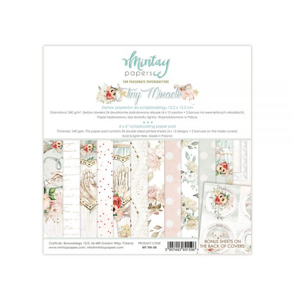MINTAY Paper Pack | Tiny Miracle 6x6