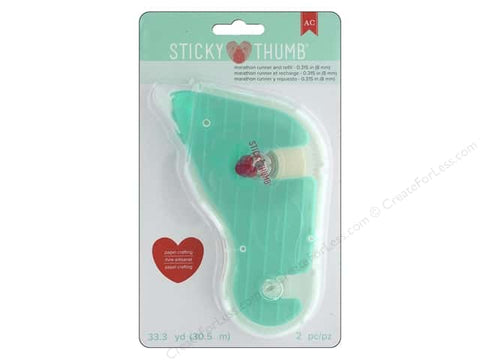 AMERICAN CRAFTS Sticky Thumb Marathon Runner and Refill