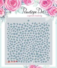 PENELOPE DEE Stencil | Alyssia | Everyday Dots