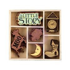 PRIMA Bedtime Story Wood Icons