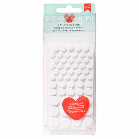 AMERICAN CRAFTS Sticky Thumb Adhesive Foam Dots