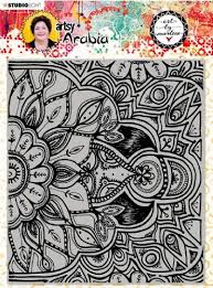 STUDIOLIGHT Art By Marlene | Texture Plate Stamp | BM04