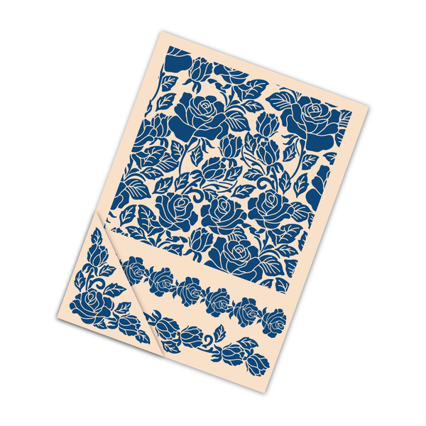 TATTERED LACE Embossing Folders - Floral