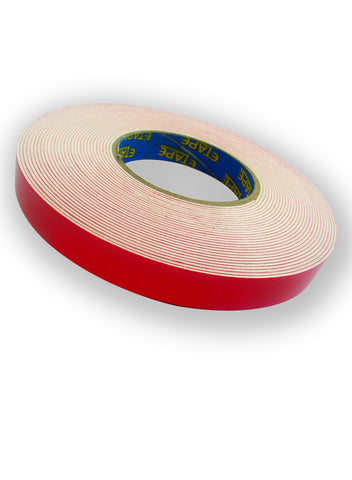 TAPE WORMZ 1.5 x 18mm x 10m Double Sided Foam Tape