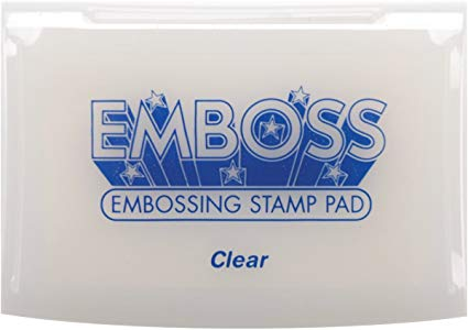TSUKINEKO Emboss Embossing Stamp Pad - Clear