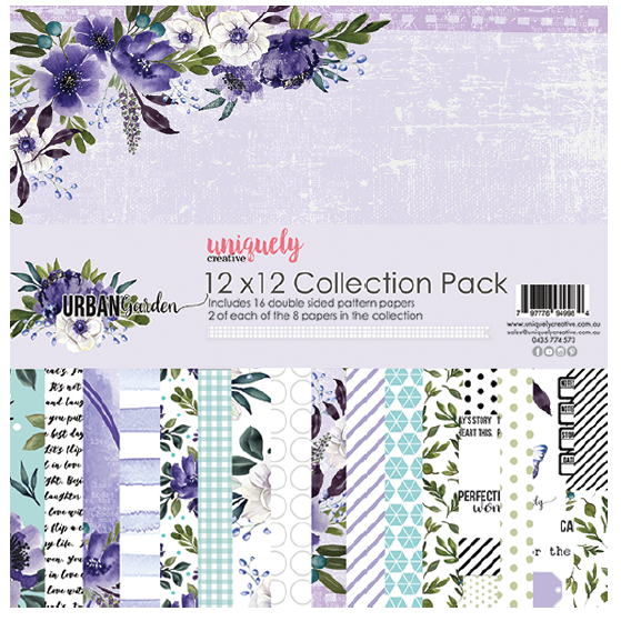 UNIQUELY CREATIVE Paper Pack | Urban Garden