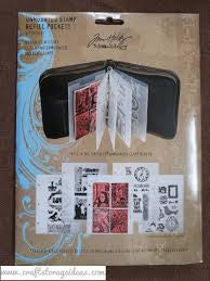 ADVANTUS Tim Holtz Idea-ology Unmounted Stamp Refill Pockets