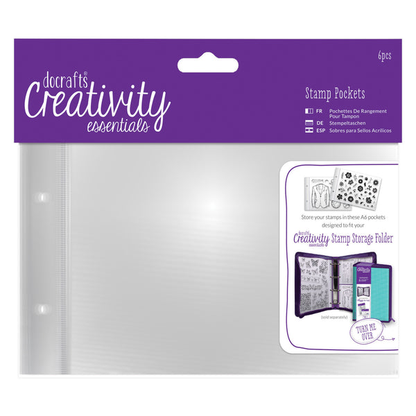 DOCRAFTS Creativity Essentials A6 Stamp Pockets