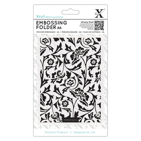 DOCRAFTS - Embossing Folder - A6 / Baroque Florals