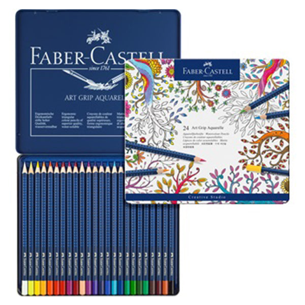 FABER-CASTELL Aquarelle Pencils / 24 Colours