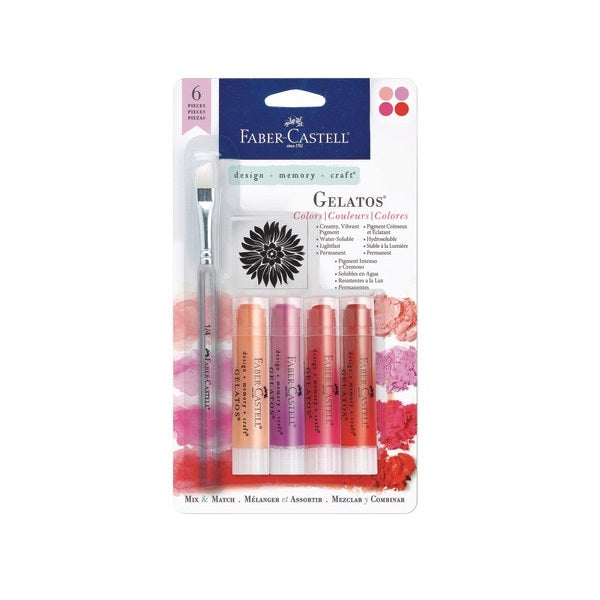 FABER-CASTELL Gelatos 4 Shades of Red