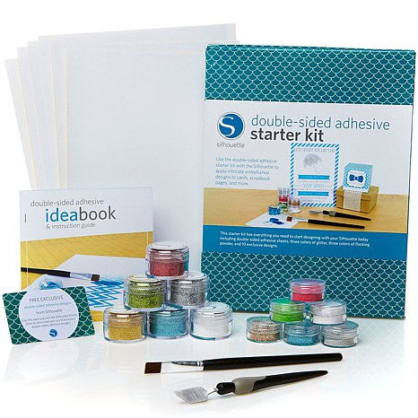 SILHOUETTE Double-side Adhesive Starter Kit