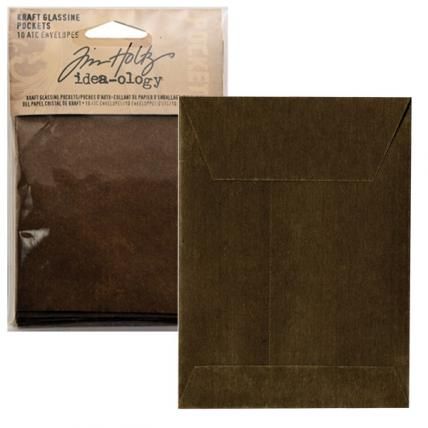 ADVANTUS CORP - TIM HOLTZ Idea-ology Kraft Glassine Pockets