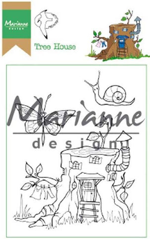 MARIANNE DESIGN Stamp - Tree House