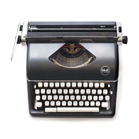 WE R MEMORY KEEPERS Typecast Typewriter Black