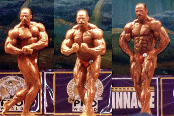 Don Youngblood, Masters Olympia