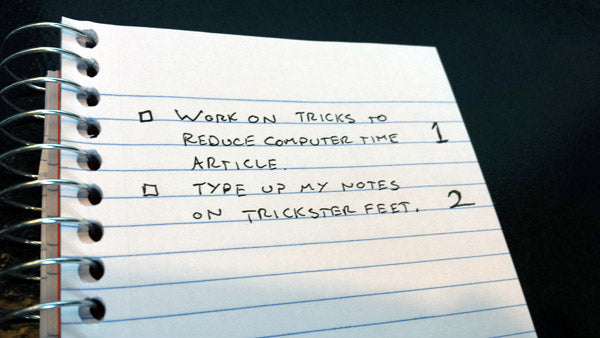 Two item todo list
