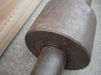 Rust removal, barbell, coke