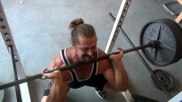 Jujimufu front squatting, front squats and tricking