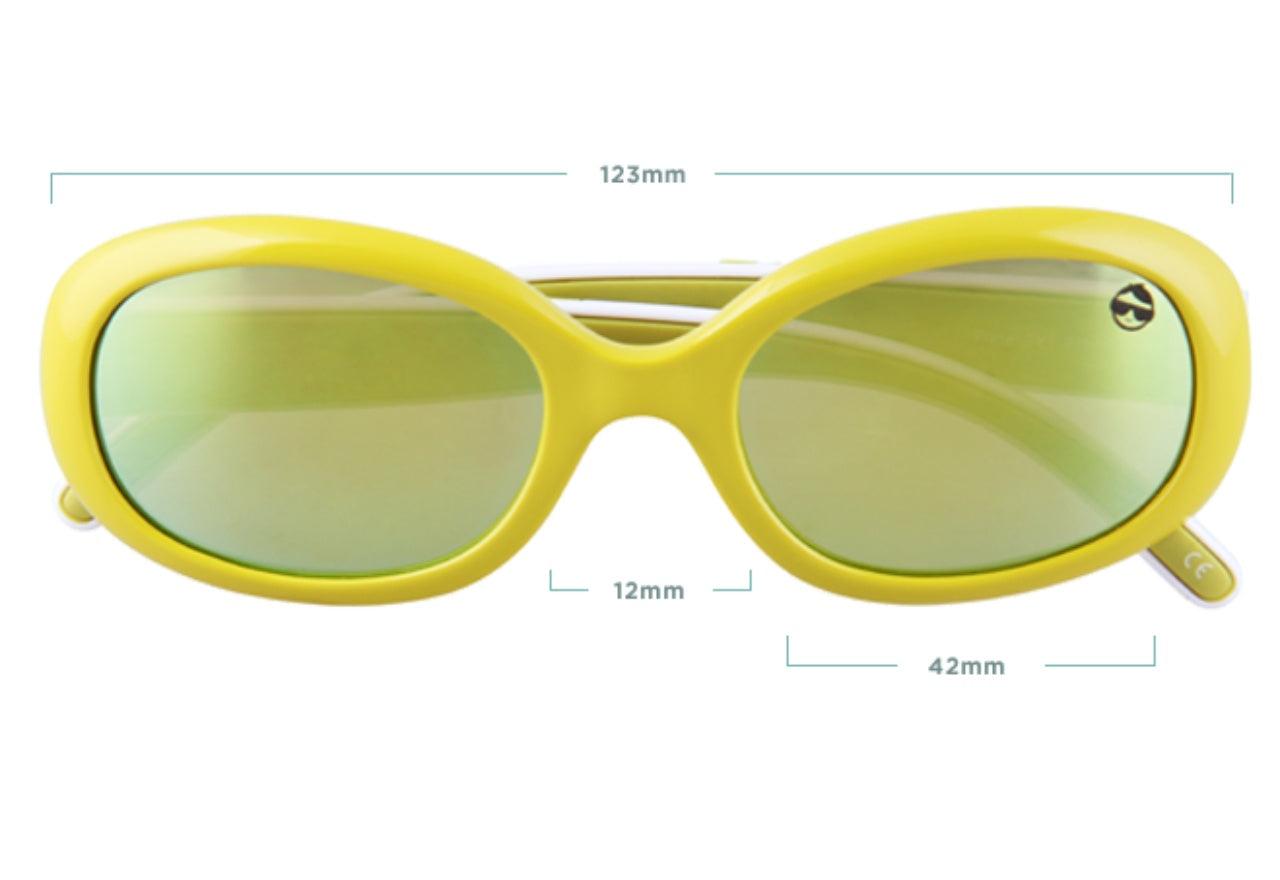 PIXIE Blue Light Glasses - Yellow