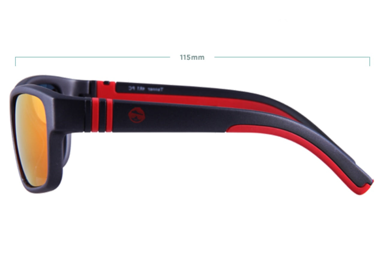 TANNER Sunglasses - Red