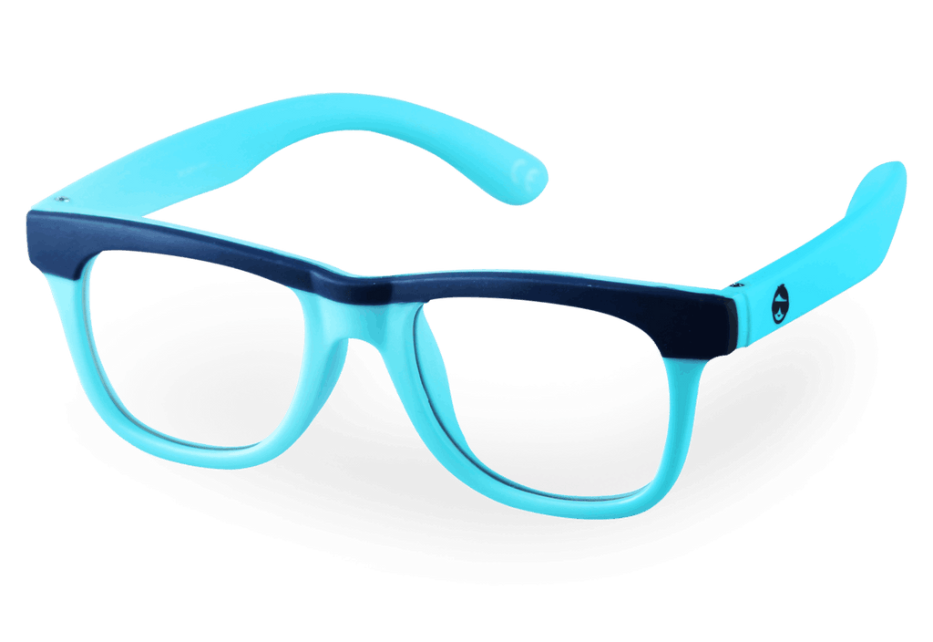 AVERY Blue Light Glasses - Teal