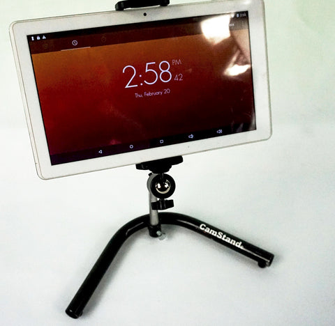 Camstand® DeskPro Duo Smart Phone and Tablet Desktop Stand
