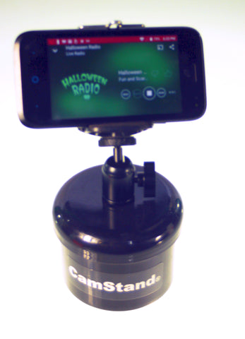 Camstand ® StashCan ™ Cell Phone Holder