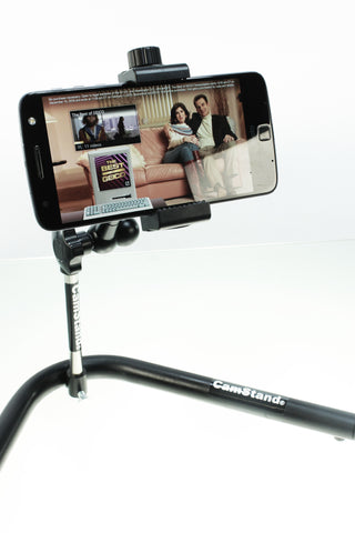 CamStand ® iGrip Pro - Mini Desktop Webcam, Smartphone and Sports Camera Stand