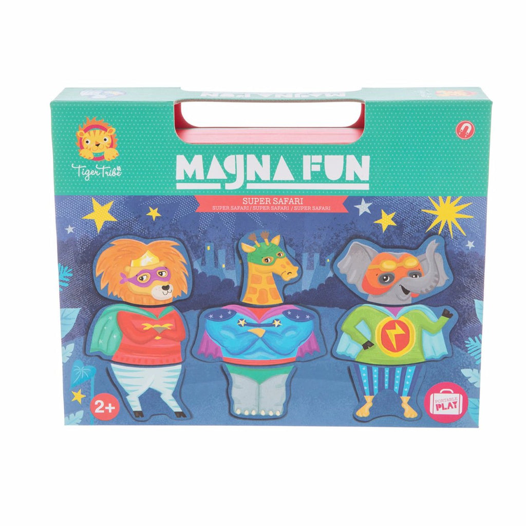 Magna Fun Children's Toy - Super Safari | Tiger Tribe | Children's Toys | Stitch Piece Loop | Noosa Heads | Shop a unique blend of independent boutique fashion & accessories; home & giftware; baby & children's toys, clothing & gifts; & designer hand knitting yarns, fabrics, & modern craft supplies |