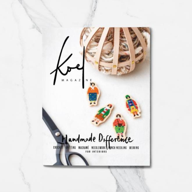 Koel Magazine Issue 8 | Modern Yarn Craft | Stitch Piece Loop | Noosa Heads
