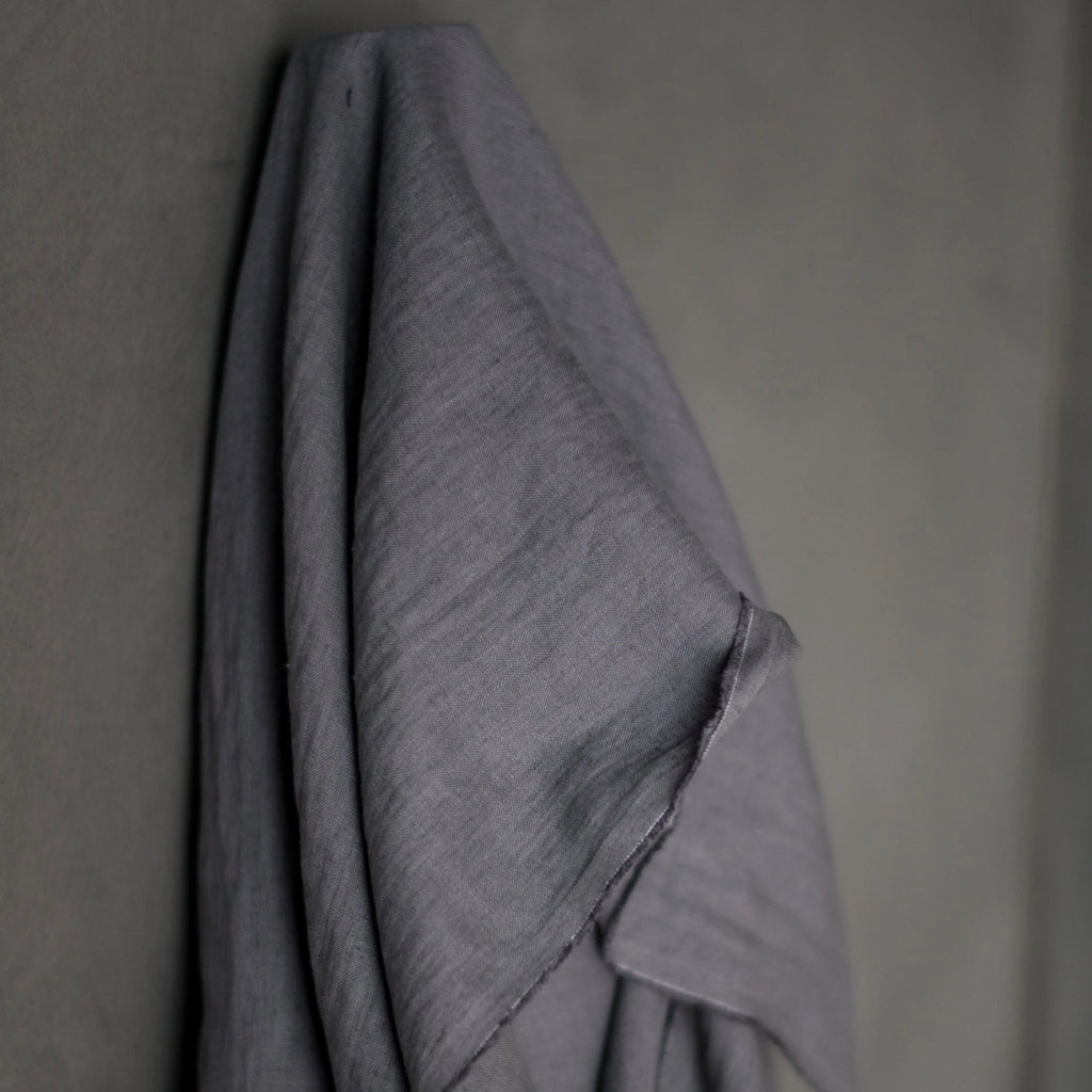 European Laundered Linen - Bazaar Grey