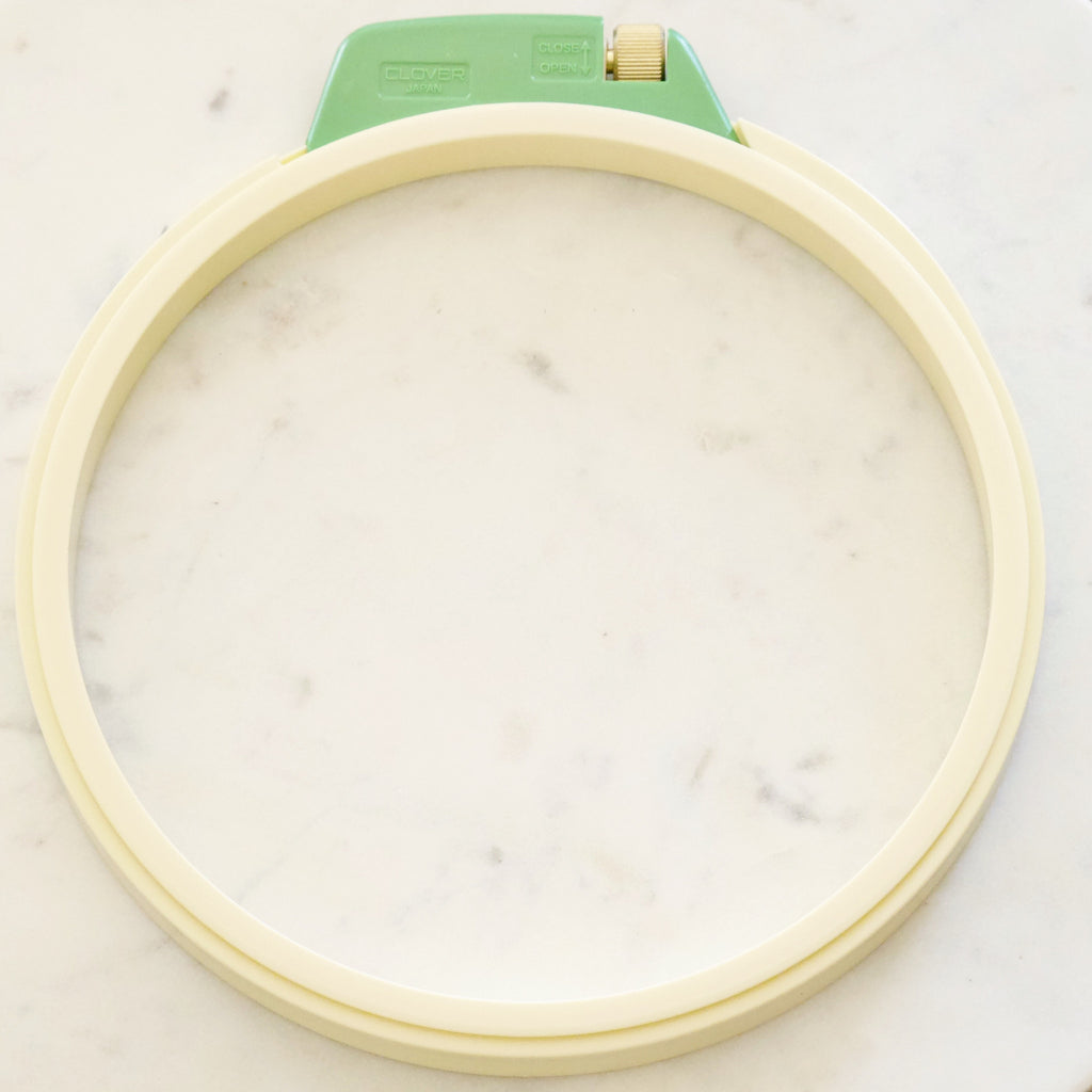 Clover Embroidery Hoop Stitch Piece Loop Fabric Yarn & Craft Store Australia