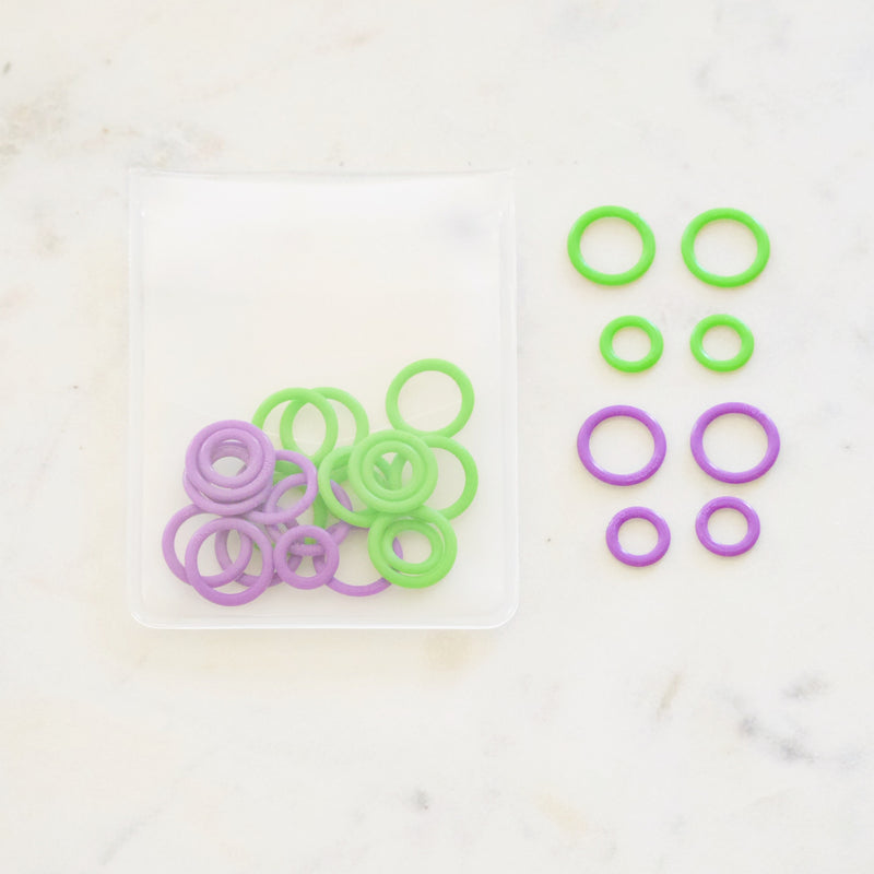 Soft Stitch Ring Markers