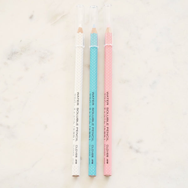 Water Soluble Pencil 3 Pack