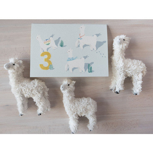 Embroidered_Card_Alpaca_Three_Greeting_Card_Down_To_The_Woods_Stitch_Piece_Loop_Fashion_Home_Gift_Baby_Fabric_Craft_Noosa_Heads_Australia