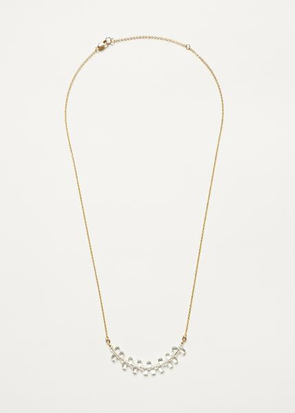 Illumination Necklace - Gold
