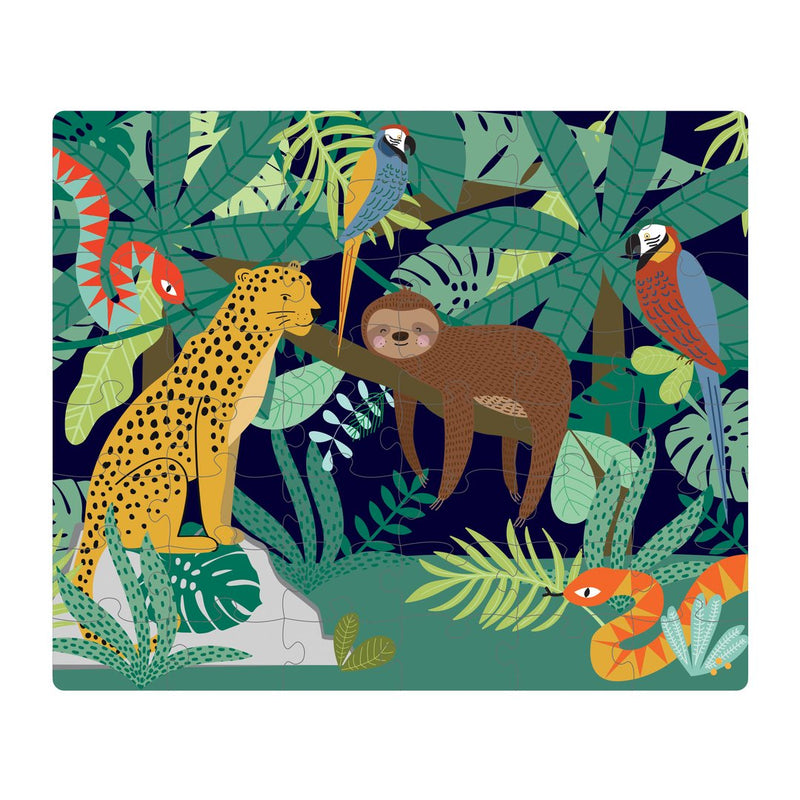 Double Sided Puzzle - Jungle